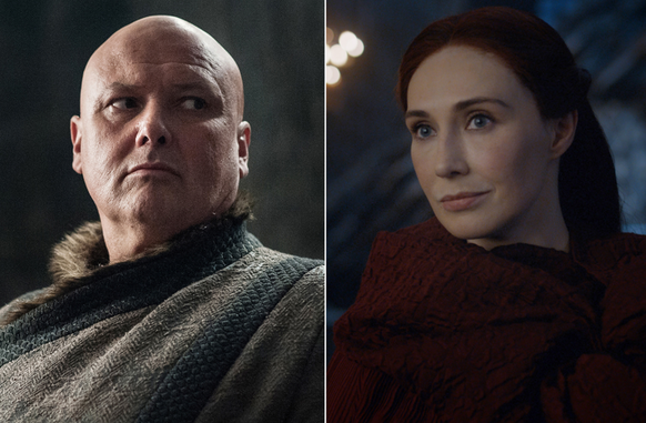 Game of Thrones Varys und Melisandre