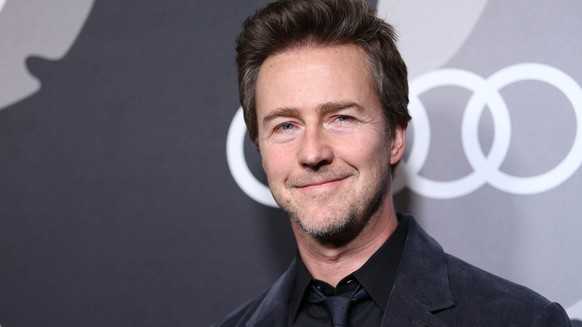 Edward Norton arrives at Audi Kicks Off Golden Globes Week 2015 at Cecconi's on Thursday, Jan 8, 2015 in West Hollywood, CA. (Photo by Omar Vega/Invision/AP)