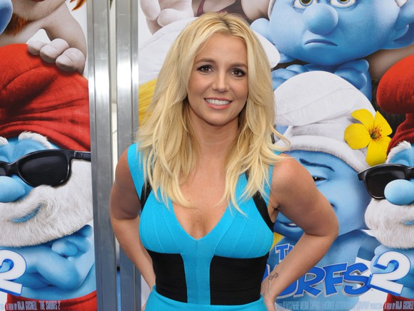 FILE - In this July 28, 2013 file photo, singer Britney Spears arrives to the world premiere of