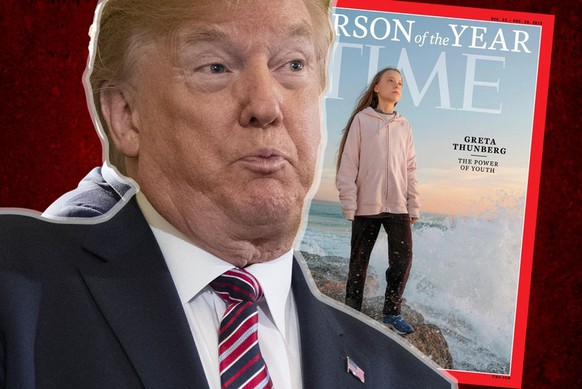 «Chill Greta, Chill!» – Trump pöbelt gegen Greta Thunberg