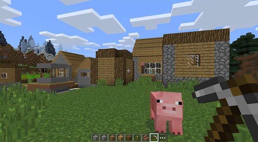 Windows Bekommt Sein Eigenes Minecraft Und Zwar Schon In - Minecraft verkaufte spiele