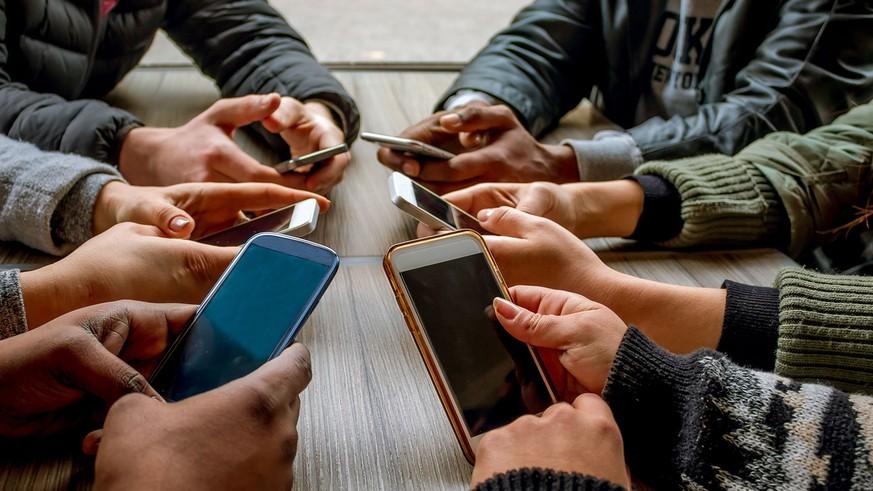 Smartphone Abhängigkeit