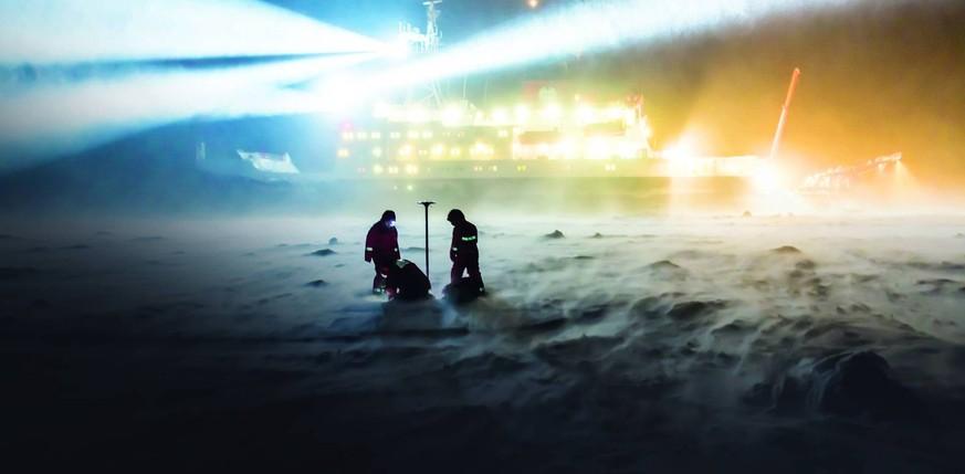 Polarstern: Dieses Schiff soll ein Jahr lang im arktischen Eis festfrieren