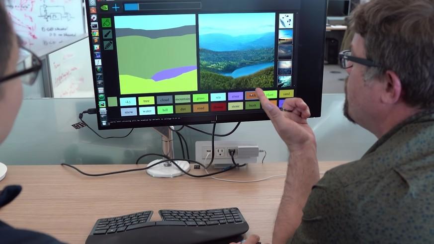 Sei-wie-Bob-Ross-Diese-Software-verwandelt-Gekritzel-in-fotorealistische-Landschaften