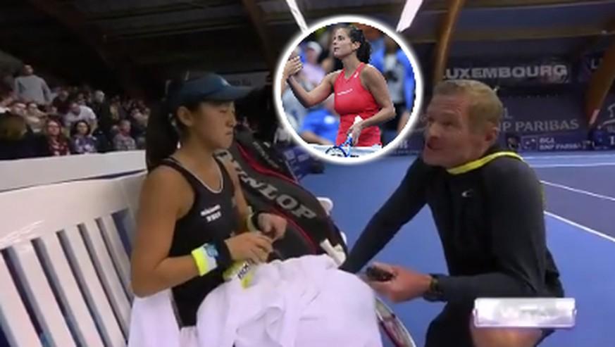 Tennis-Eklat auf WTA-Tour: «Wie Karlovic mit grossen Brüsten»