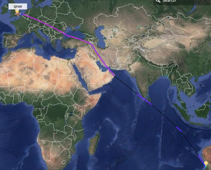 Qantas gelingt erster Nonstop-Flug zwischen Australien und ...
