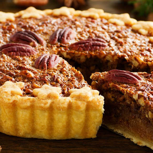 pecan pie pekan nüsse nuss torte usa essen food rezept backen