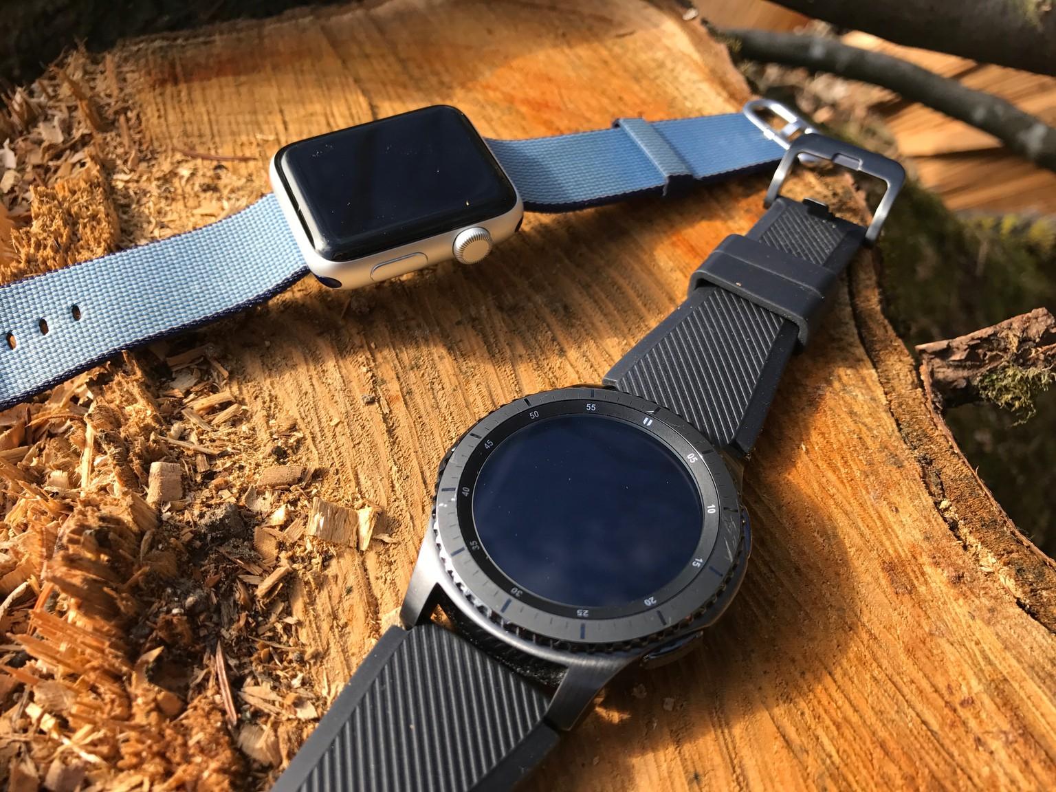 Gear S3 Vs Apple Watch 2 Das Taugt Samsungs Top Gun Uhr Watson