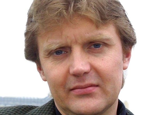 Alexander Litvinenko, former KGB spy and author of the book