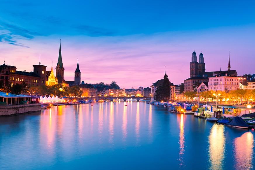 Schweiz Große Städte