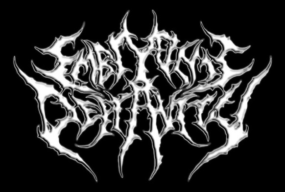 http://www.nme.com/photos/31-illegible-black-metal-band-logos-1435801 Embryonic Depravity metal band logo