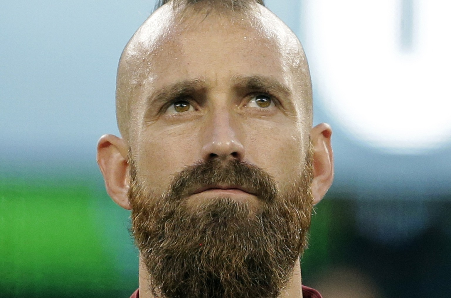 Portugal's Raul Meireles looks on before their international friendly soccer match against Ireland, ahead of the 2014 World Cup, in East Rutherford, New Jersey, June 10, 2014.  REUTERS/Ray Stubblebine (UNITED STATES - Tags: SPORT SOCCER WORLD CUP HEADSHOT)