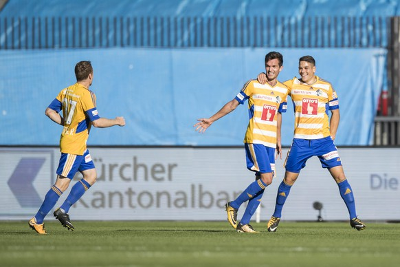 SCHWEIZ FUSSBALL SUPER LEAGUE GC LUZERN