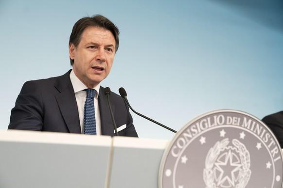 ITALY POLITICS CORONAVIRUS