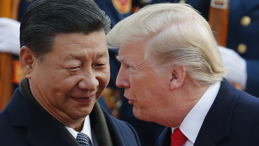 US-Präsident Trump will 75'000 Jobs retten – in China