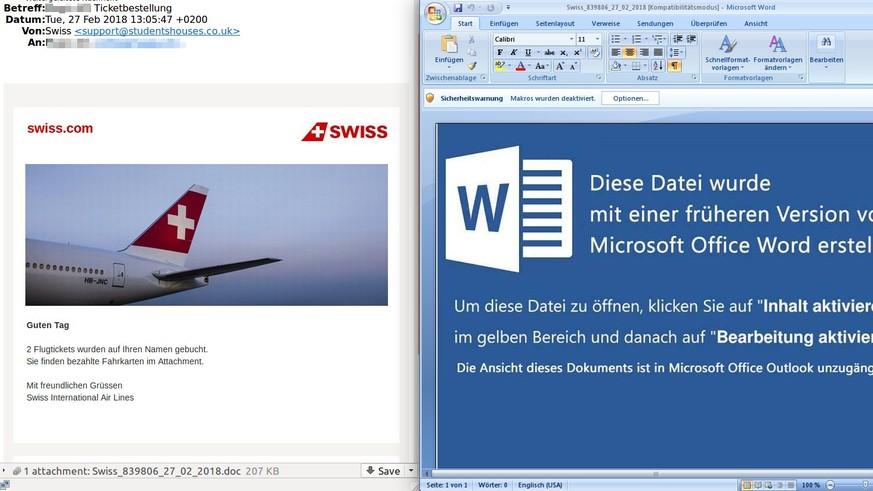 Neue Trojaner-Welle erreicht die Schweiz – so wollen dich die Hacker ...