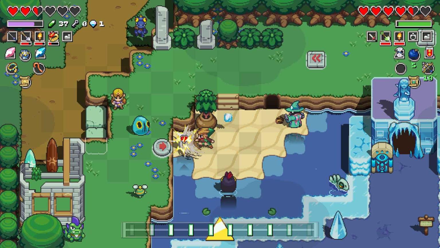 Zelda: Cadence of Hyrule» im Test. So gut ist das Game für Nintendo on