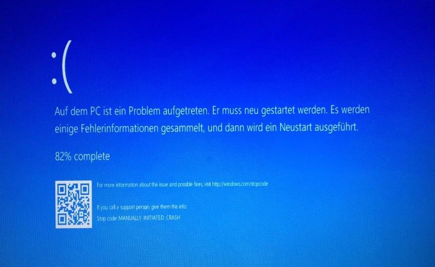 machine check exception blue screen