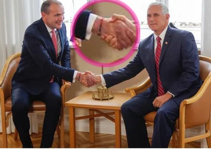 So hat sich Mike Pence seinen Besuch in Island wohl nicht vorgestellt