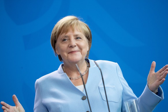 (FILE) GERMANY PANDEMIC CORONAVIRUS COVID19 MERKEL NEGATIVE TEST
