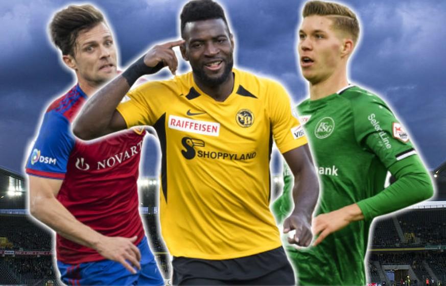Super League: YB, Basel und St.Gallen kämpfen um den Meistertitel