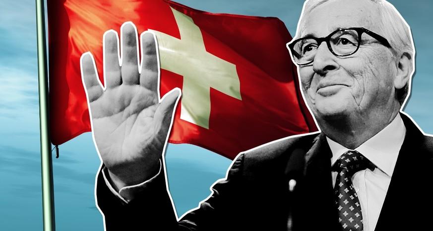 Das sagt Jean-Claude Juncker zu seinem Abschied über die Schweiz