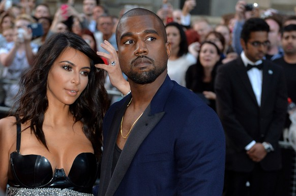 LONDON, ENGLAND - SEPTEMBER 02:  Kim Kardashian and Kanye West attend the GQ Men of the Year awards at The Royal Opera House on September 2, 2014 in London, England.  (Photo by Anthony Harvey/Getty Images)
