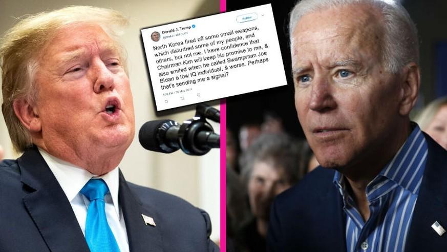 «Tiefer IQ»: Trump greift Joe Biden an – und schreibt dabei dessen Namen falsch