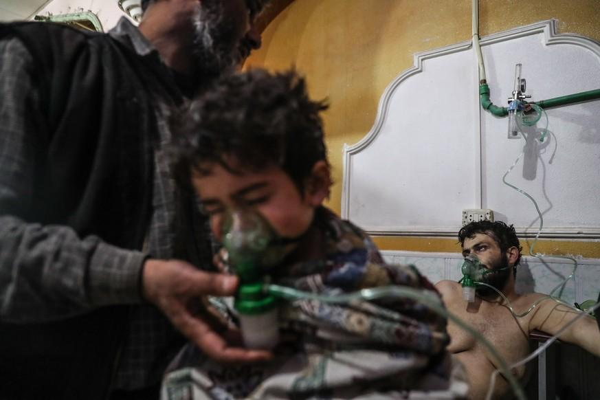 Chemiewaffen-Organisation bestätigt Einsatz von Giftgas im Februar in Syrien