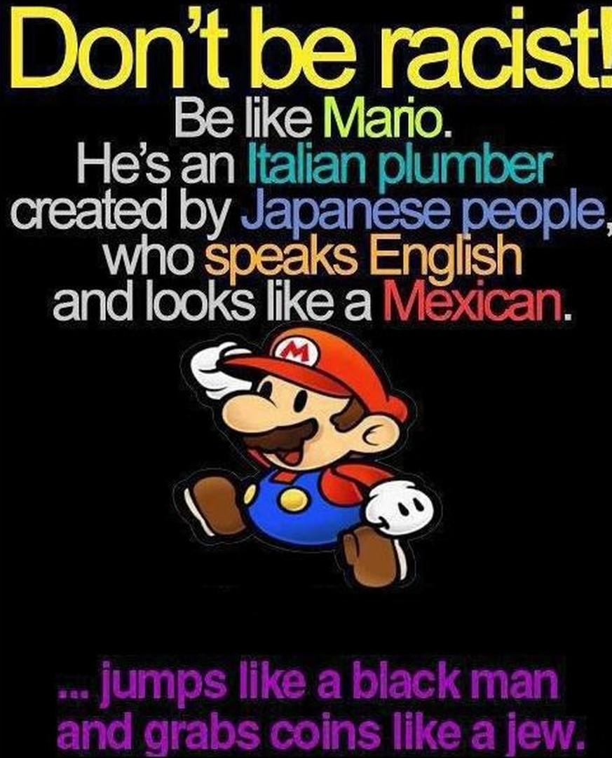 rassist englisch