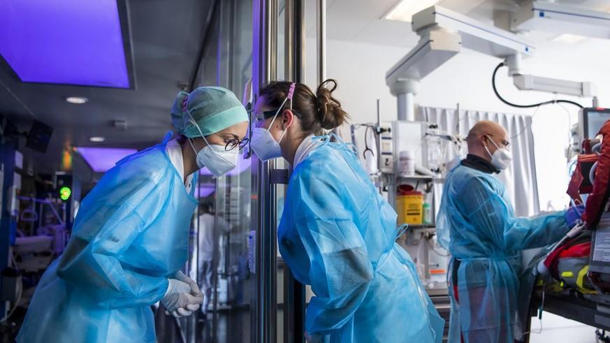Corona: So erlebt das Personal auf den Intensivstationen die Pandemie