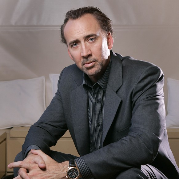 FILE - In this Sept. 15, 2009 file photo, actor Nicolas Cage poses for a portrait at the 34th Toronto International Film Festival in Toronto. (AP Photo/Carlo Allegri, file)