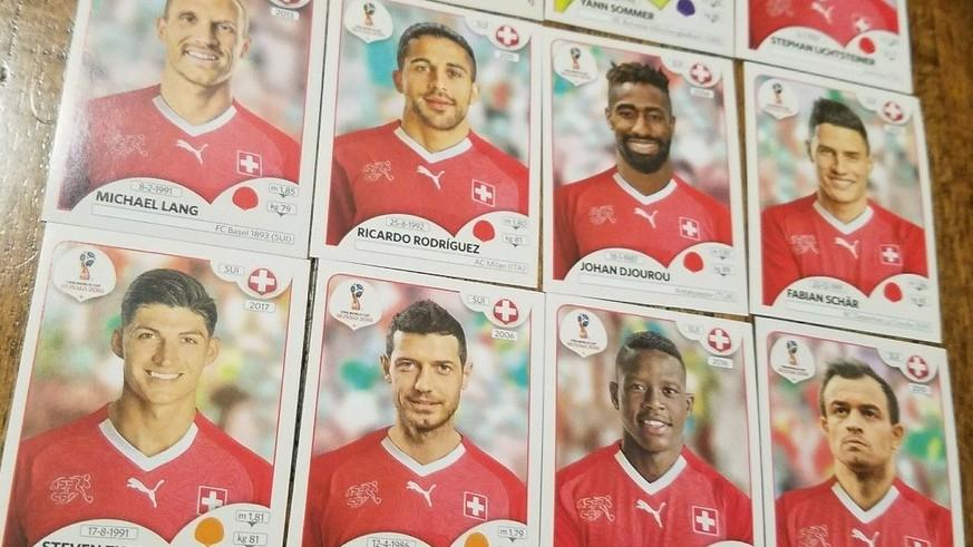 Johan Djourou Schweiz Panini WM 2018 World Cup Russia Sticker 379