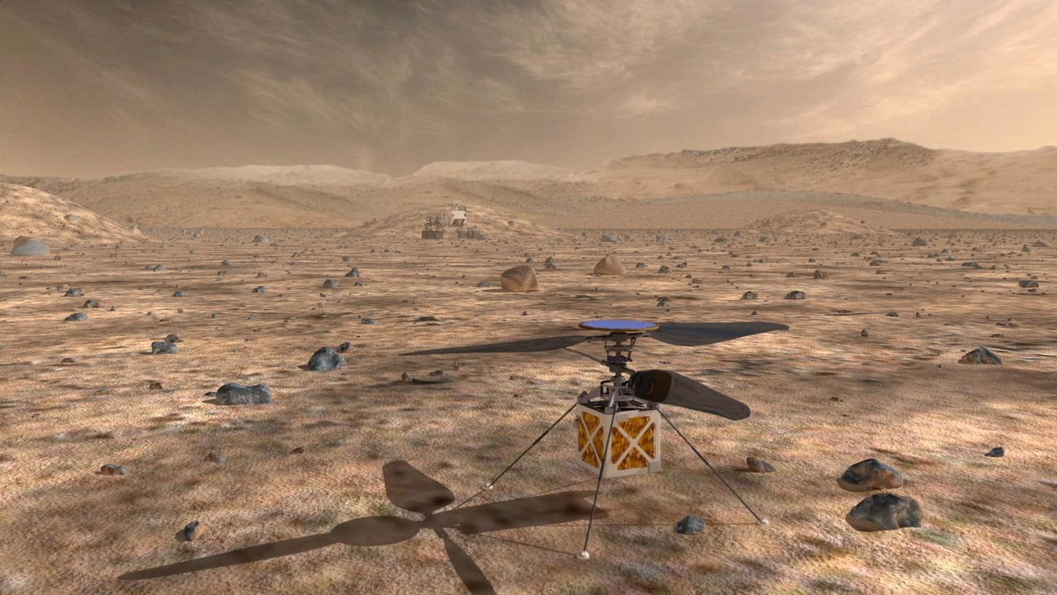Hubschrauber soll Mars erkunden