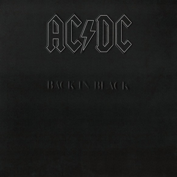 «Back in Black» von AC/DC