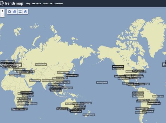 Twitter Trendmap