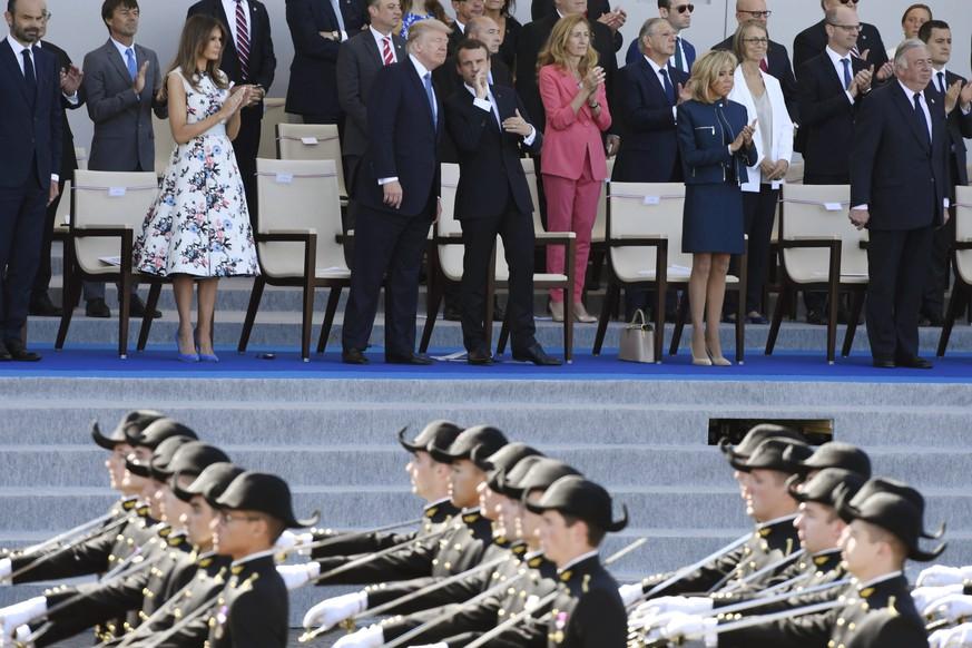 Trump gibt pompöse Militärparade in Auftrag