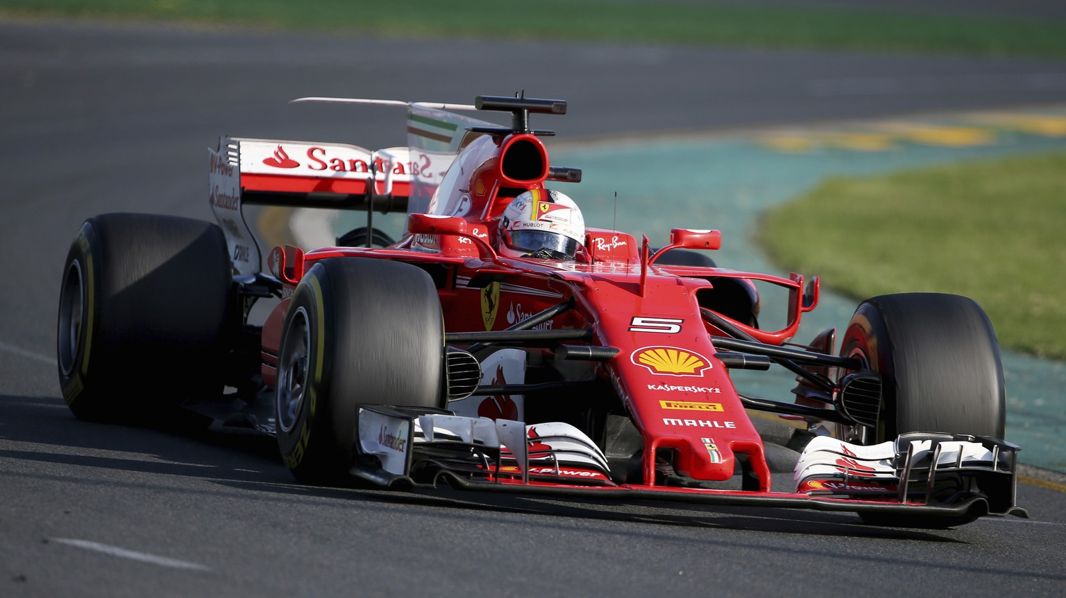formel 1 gp australien 2017 vettel gewinnt vor den mercedes watson. Black Bedroom Furniture Sets. Home Design Ideas