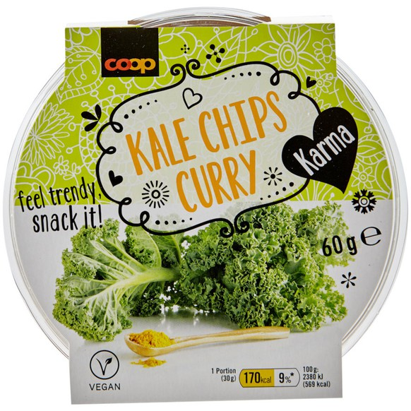 Karma Kale Chips Curry
