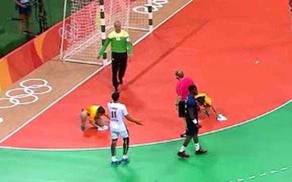handball putzen franrkreich katar