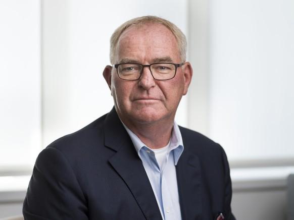 AVIS --- ZU CHRISTOPH MAEDER, DESIGNIERTER PRAESIDENT ECONOMIESUISSE STELLEN WIR IHNEN FOLGENDES PORTRAIT ZUR VERFUEGUNG. WEITERE BILDER FINDEN SIE AUF visual.keystone-sda.ch --- Christoph Maeder, designierter Praesident des Schweizer Wirtschaftdachverbandes economiesuisse, portraitiert am 20. Juli 2020 am Hauptsitz der Organisation in Zuerich. Christoph Maeder tritt die Nachfolge von Heinz Karrer per Ende September 2020 an. (KEYSTONE/Gaetan Bally)