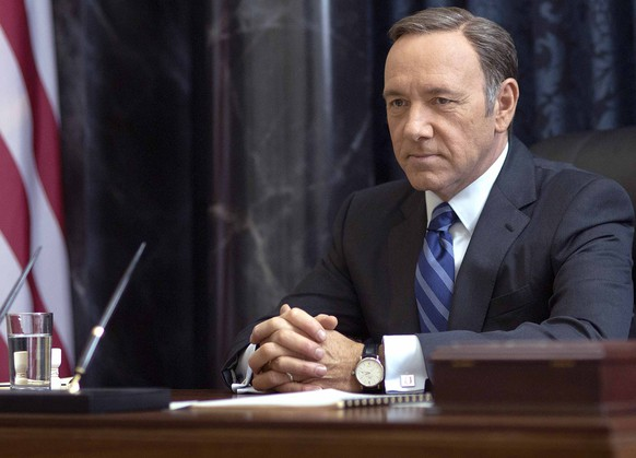 FOR TV WEEK -- DO NOT PURGE -  Kevin Spacey in season 2 of Netflix's