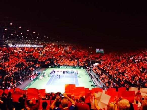 Fans Schweiz Davis Cup