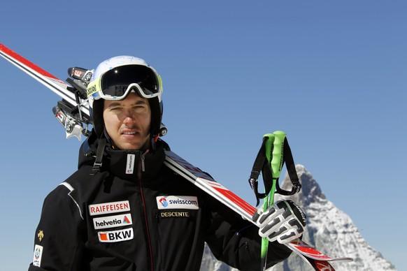 21.09.2015; Zermatt; Ski alpin - Swiss Ski Medientag - Carlo Janka;(Gerard Berthoud/freshfocus)