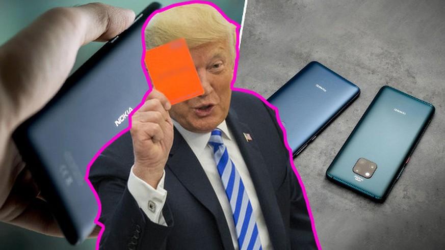 Herr Matthes, wie gross ist die Schadenfreude bei Nokia über Huaweis Trump-Schlamassel?