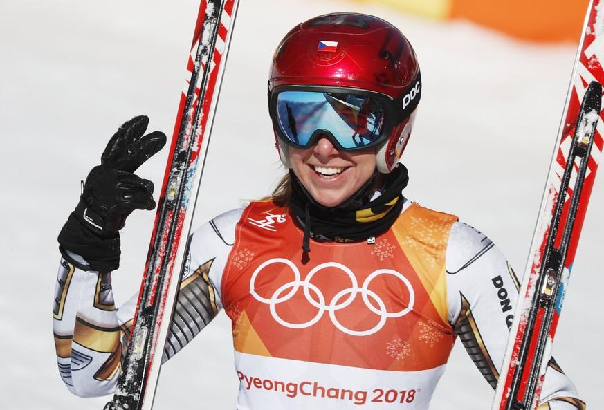 Sensation! Snowboarderin Ledecka holt Super-G-Gold