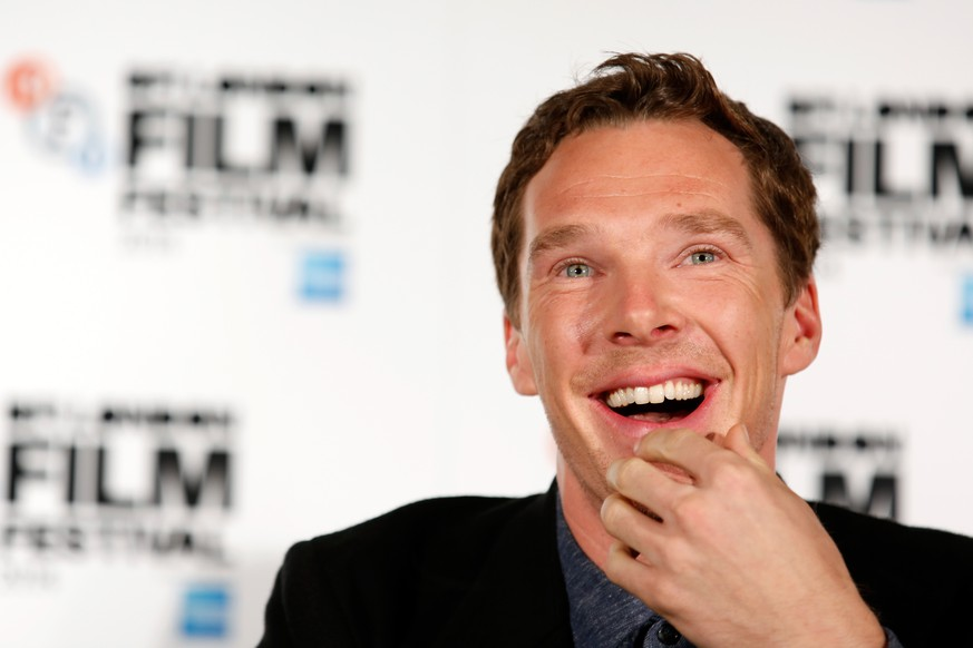 FILE - November 04: A British newspaper has announced the engagement of actor Benedict Cumberbatch to theatre director Sophie Hunter. LONDON, ENGLAND - OCTOBER 08:  Actor Benedict Cumberbatch attends the press conference for