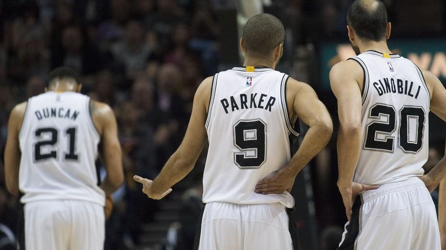 quality design 62099 ad860 Die Spurs scheiden in den NBA-Playoffs aus – das Ende der ...