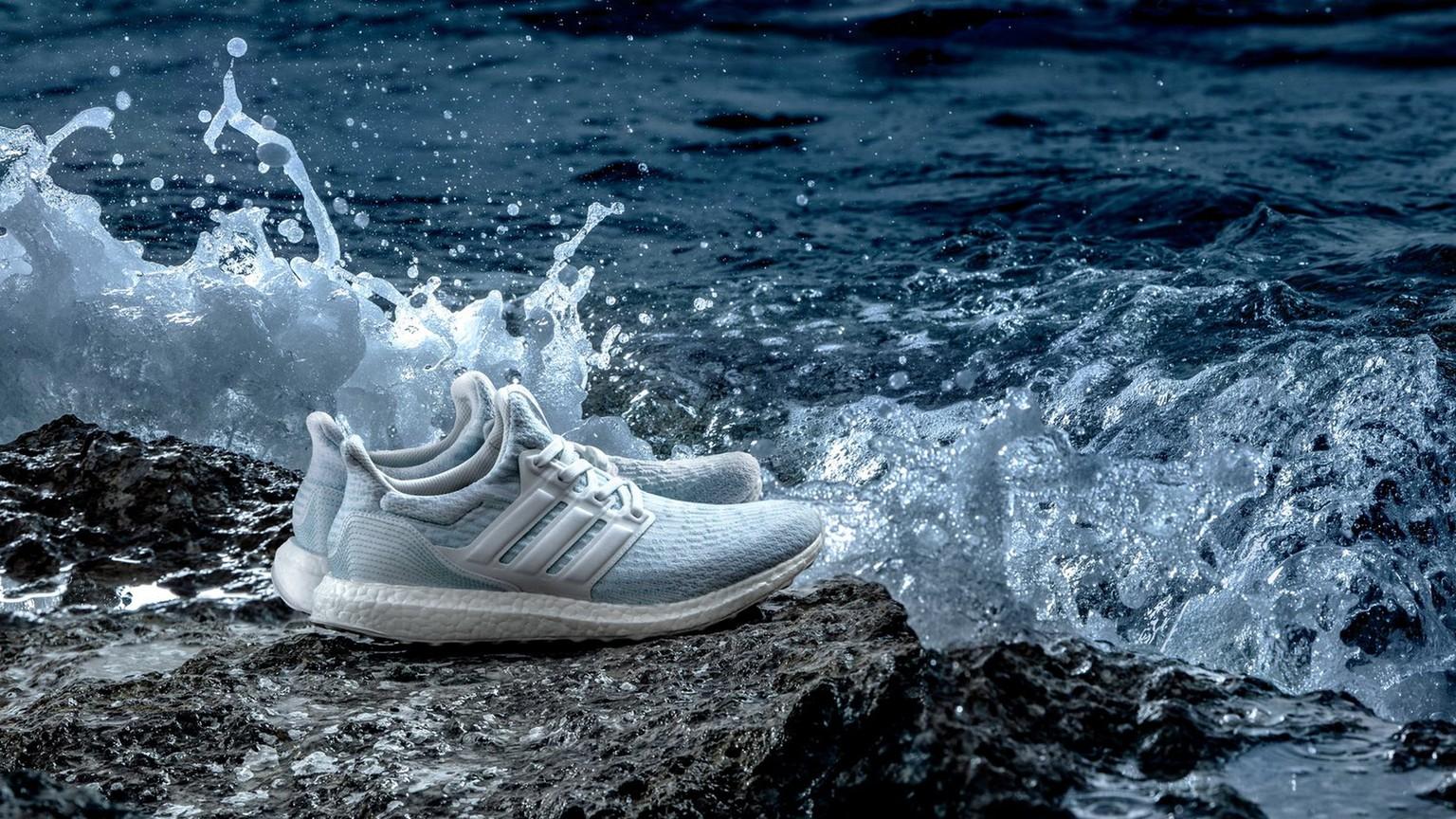 Dieser Schuh wird aus Ozean Plastik hergestellt watson