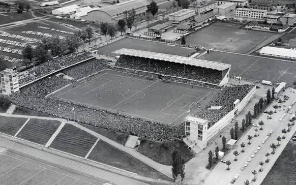 Im Cupfinal 1958 bezwingt YB die Grasshoppers mit 4:1.